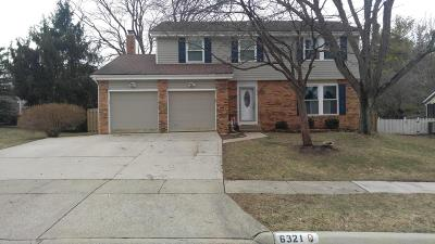 Dublin  Single Family Home For Sale: 6321 Rockland Drive Drive