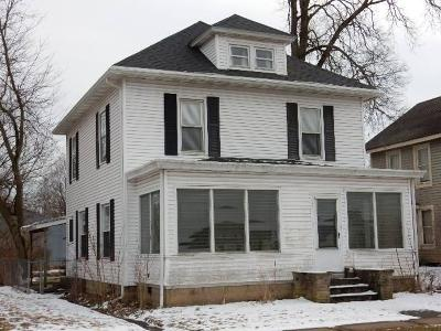Mount Vernon OH Single Family Home For Sale: $92,900