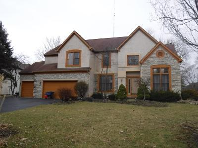 Westerville Single Family Home For Sale: 5652 Turnberry Drive