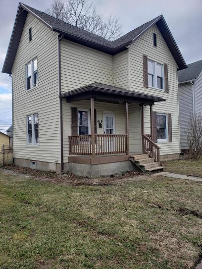 Newark Single Family Home For Sale: 419 Tuscarawas Street
