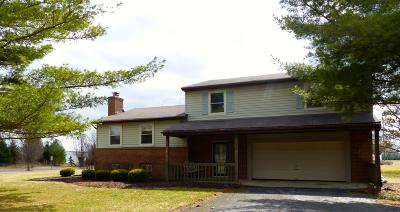 Delaware Single Family Home For Sale: 3430 Cheshire Road