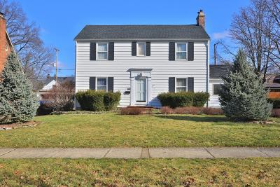 Columbus Single Family Home For Sale: 296 Arden Road