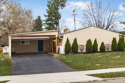 Gahanna Single Family Home Sold: 338 Rocky Fork Drive N