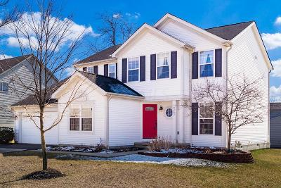 Reynoldsburg Single Family Home For Sale: 8243 Rodebaugh Road