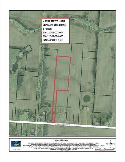 Sunbury Residential Lots & Land For Sale: Woodtown Road
