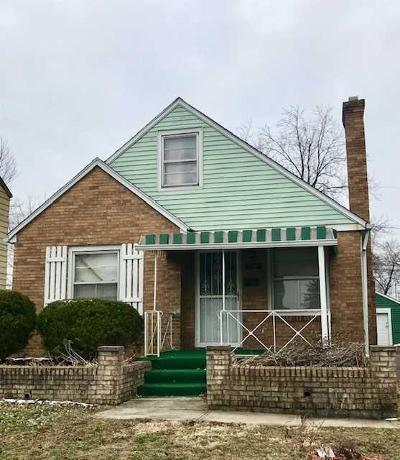 Columbus Single Family Home For Sale: 1721 E Frankfort Street