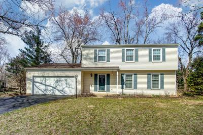 Columbus Single Family Home For Sale: 5716 Concord Hill Drive