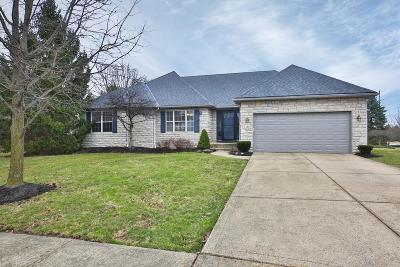 Westerville Single Family Home For Sale: 789 Mill Wind Court E