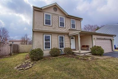 Hilliard Single Family Home For Sale: 4945 Cashion Drive