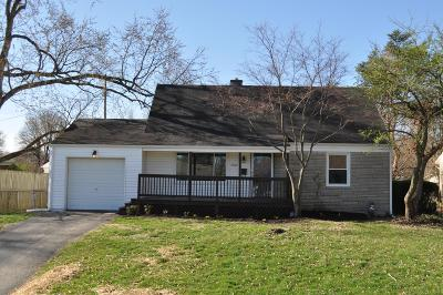 Columbus Single Family Home For Sale: 2939 Dover Road