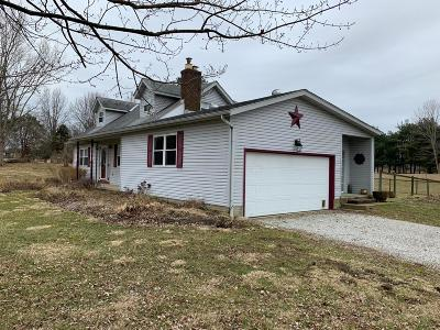 Millersport Single Family Home For Sale: 12135 Cherry Lane