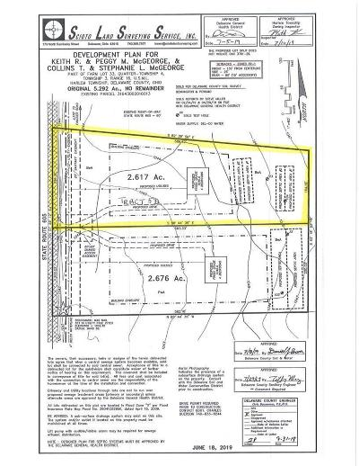 Westerville Residential Lots & Land For Sale: State Route 605 #Tract 5D