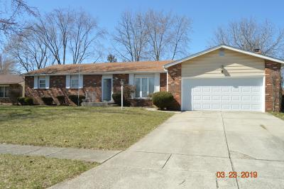Grove City Single Family Home For Sale: 6205 Hickory Lawn Court