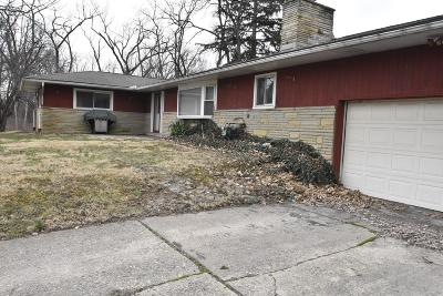 Columbus OH Single Family Home For Sale: $95,000