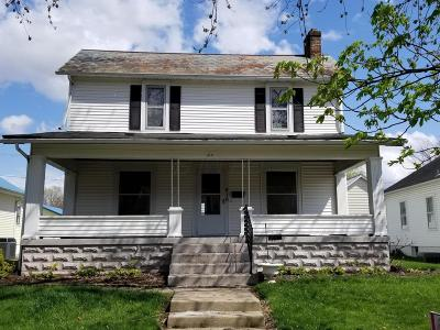 Bremen OH Single Family Home For Sale: $139,900