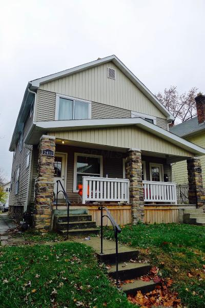 Franklin County, Delaware County, Fairfield County, Hocking County, Licking County, Madison County, Morrow County, Perry County, Pickaway County, Union County Multi Family Home For Sale: 2411-15 Indianola Avenue