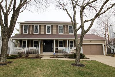 Franklin County, Delaware County, Fairfield County, Hocking County, Licking County, Madison County, Morrow County, Perry County, Pickaway County, Union County Single Family Home For Sale: 1122 Dawn Drive