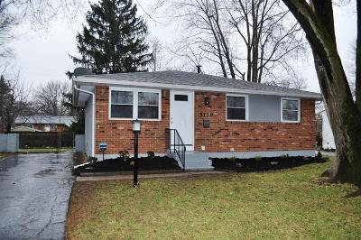 Columbus OH Single Family Home For Sale: $119,900