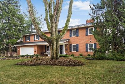 Upper Arlington Single Family Home For Sale: 2757 Elginfield Road