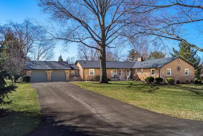 Upper Arlington Single Family Home Sold: 3851 Rushmore Drive