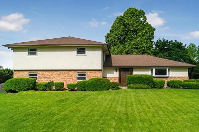 Upper Arlington Single Family Home For Sale: 3883 Ritamarie Drive