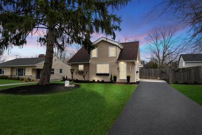 Upper Arlington Single Family Home For Sale: 2064 Zollinger Road