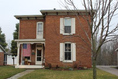 Cardington Single Family Home For Sale: 148 E Main Street