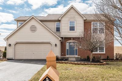 Lewis Center Single Family Home Sold: 6437 Cheyenne Creek Drive