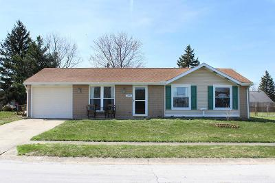 Circleville OH Single Family Home Sold: $136,000