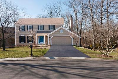 Gahanna Single Family Home For Sale: 615 Millwood Court