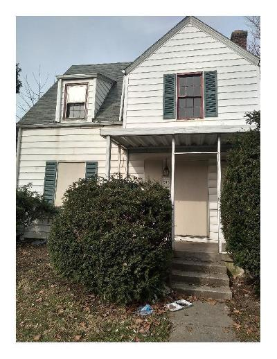 Columbus Single Family Home For Sale: 935 Geers Avenue