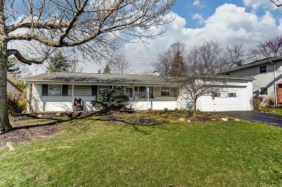 Columbus Single Family Home For Sale: 2663 N Star Road