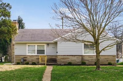 Single Family Home For Sale: 715 E Weisheimer Road