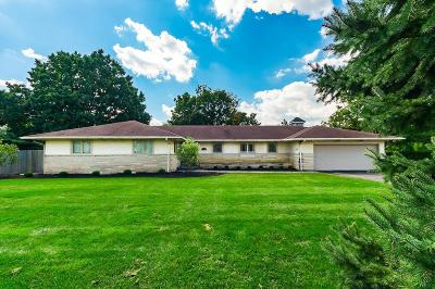 columbus Single Family Home For Sale: 3781 W Henderson Road