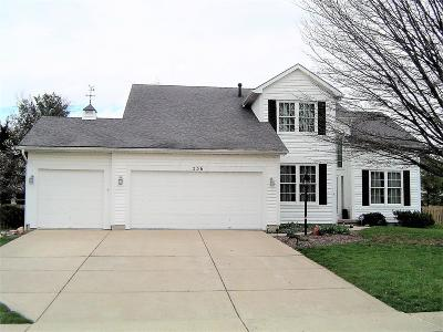 Pickerington Single Family Home For Sale: 536 Courtright Court