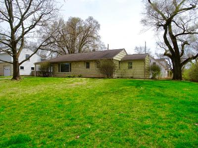 Columbus Single Family Home For Sale: 2431 Swansea Road