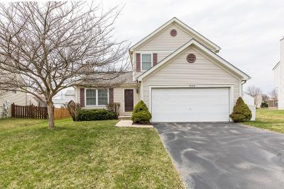 Lewis Center Single Family Home Sold: 9029 Newmills Lane