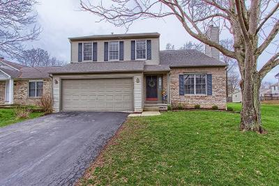 Lewis Center Single Family Home Sold: 8459 Olenbrook Drive