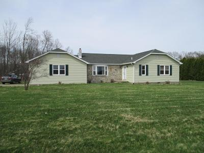 Marengo Single Family Home For Sale: 7225 State Route 229