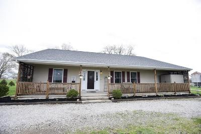 Ashville Single Family Home For Sale: 14186 Ett Noecker Road