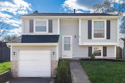 Reynoldsburg OH Single Family Home For Sale: $151,900