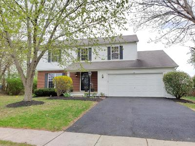 Hilliard Single Family Home For Sale: 5510 Hyde Park Drive