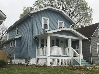 Columbus OH Single Family Home For Sale: $110,000