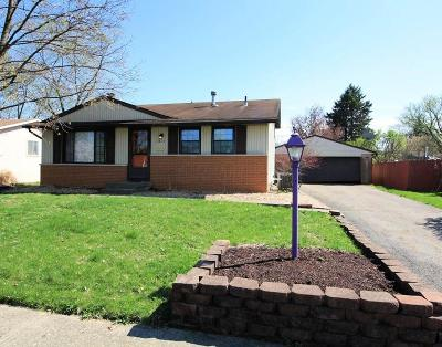 Columbus Single Family Home For Sale: 1431 Cardwell Square N