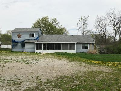 Columbus Single Family Home For Sale: 1260 Greenleaf Road