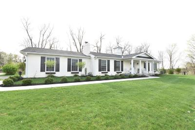 Licking County Single Family Home For Sale: 2780 Newark Granville Road