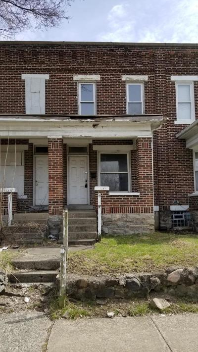 Columbus OH Single Family Home For Sale: $30,795