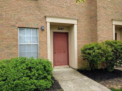 Columbus Condo For Sale: 2447 Mason Village Court
