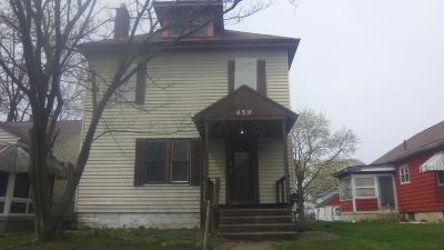 Franklin County, Delaware County, Fairfield County, Hocking County, Licking County, Madison County, Morrow County, Perry County, Pickaway County, Union County Single Family Home For Sale: 459 S Burgess Avenue