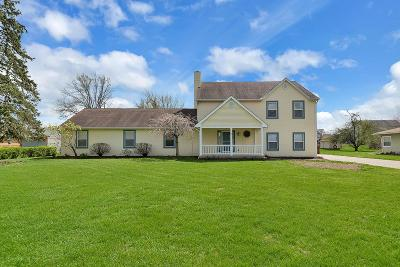 Franklin County, Delaware County, Fairfield County, Hocking County, Licking County, Madison County, Morrow County, Perry County, Pickaway County, Union County Single Family Home For Sale: 5199 Bixby Road